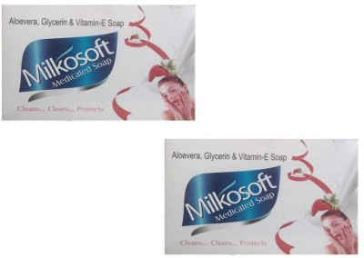 Milkosoft Medicated Soap
