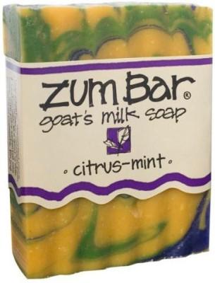 Indigo Wild : Zum Bar Goat's Milk Soap Citrus & Mint