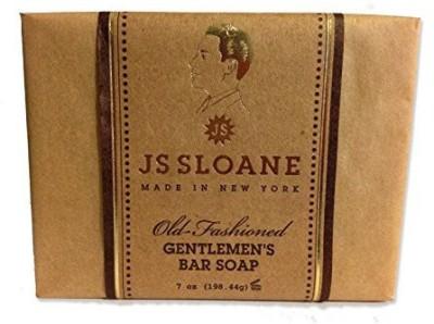 JS Sloane Old Fashioned Gentlemen,s Bar Soap