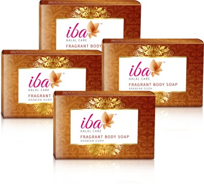 Iba Halal Care Arabian Oudh Fragrant Body Soap (Pack of 4)