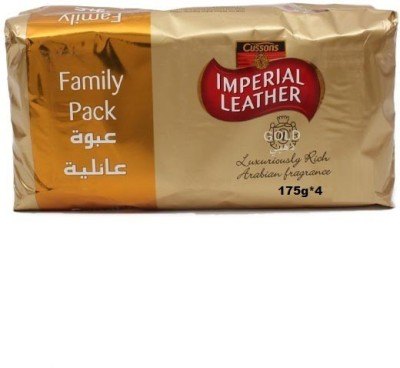 Imperial Leather Cussons Gold Luxuriously Rich with ArabianFragrane ( Pack of 4 )