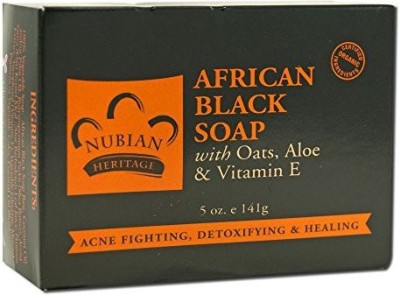 Nubian Heritage Bar Soap African Blk with Al ( 2 Pack)