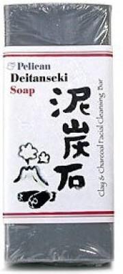 Pelican Deitanseki Clay & Charcoal Facial Cleansing Bar
