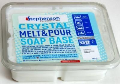 Stephenson Goat Milk Melt and Pour Soap Base