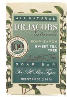 Dr. Jacobs Naturals Castile Bar Soap - Sweet Tea Tree