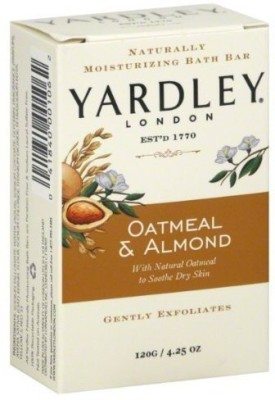 Yardley Oatmeal and Almond Bar Soap 2 Bars per Box - 10 Boxes