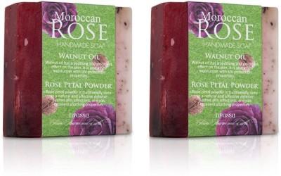 Nyassa Moroccan Rose Handmade Soap Pack Of 2