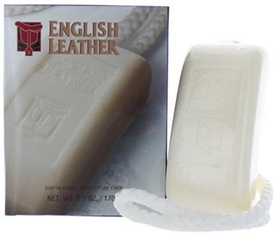 Dana English Leather Soap On A Rope for Men