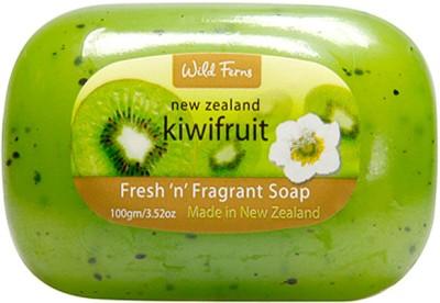 Wild Ferns New Zealand Kiwifruit Fresh & Fragrant Soap