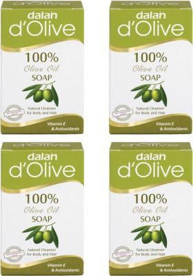 Dalan Pure Olive Oil Soap, 150g X 4 pcs.