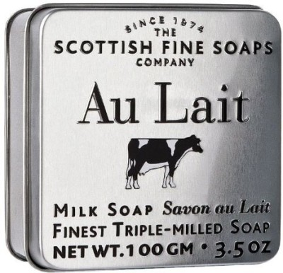 The Scottish Fine Soaps Company Au Lait Milk Soap In A Tin