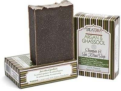Shea Terra Organics Shampoo + Spa Body Bar