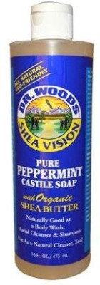 Dr. Woods Pure Castile Soap - Peppermint
