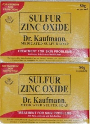Dr. Kauffman Soap Lot of Medicated Sulfur Soap