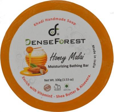 Dense Forest Honey Malai Handmade Khadi Soap