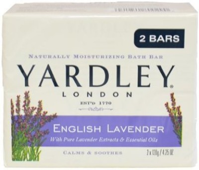 Yardley Bar Soap English Lavender 2 Count