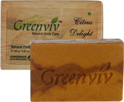 Greenviv Natural Citrus Delight Soap