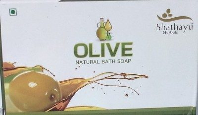 Shathayu Herbals Olive Natural Bath Soap