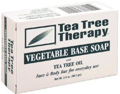 Tea Tree Therapy Soap Bar Vegetable Base