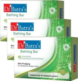 Dr Batra's Skin Purifying Bathing Bar pack of 3