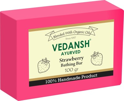 Vedansh Strawberry Bathing Bar