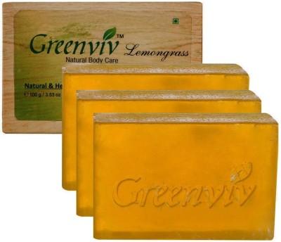 Greenviv Natural Lemongrass Soap