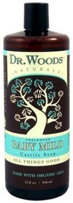 Dr. Woods Naturals Castile Liquid Soap Baby
