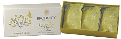 Bronnley England Lemon & Neroli by Bronnley Soap 3 Bars of Soap
