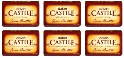 Dalan Castile Beauty Soap - Cocoa Butter (Pack Of 6)