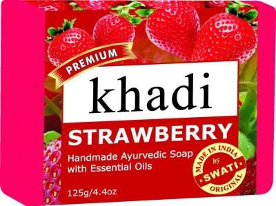 Khadi Premimum Strawberry Soap