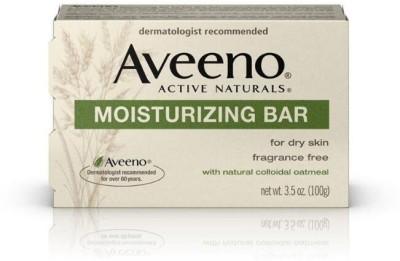 Aveeno Active Naturals Moisturizing Fragrance - Free Bar Soap