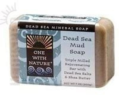 One With Nature Soap Dead Sea Mud ( Multi-Pack)