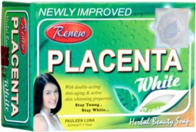 Renew Placenta White Herbal Beauty Skin Whitening Soap
