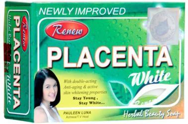 Renew Placenta White Herbal Beauty Soap Skin Fairness(135 g)