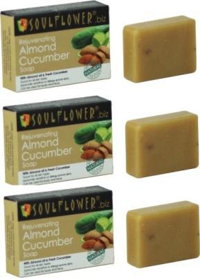 Soulflower Rejuvenating Almond Cucumber Combo
