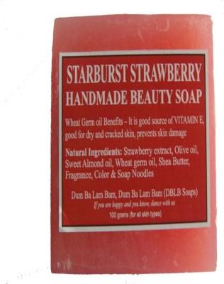 DBLB Starburst Strawberry Handmade Natural Soap