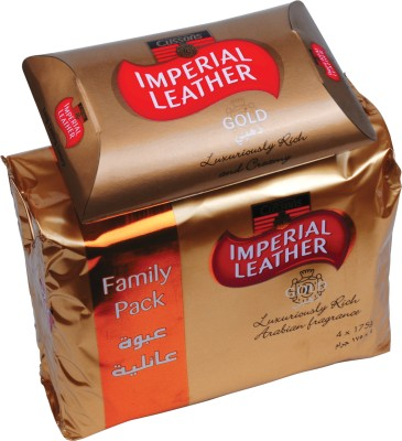 Cussons Imperial Leather Gold - Family Pack of 4