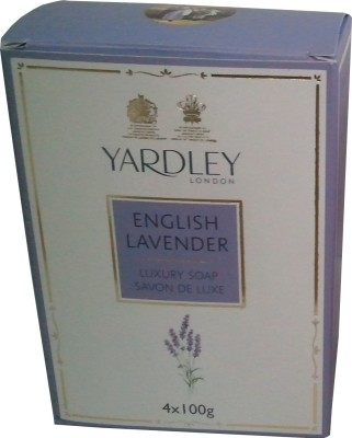 Yardley English Lavender Luxury Soap - Pack of 4