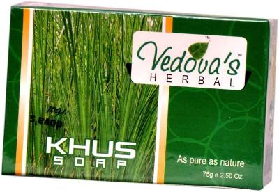 VEDOVA,S HERBAL CARE KHUS SOAP 75 GM (15 PCS.)