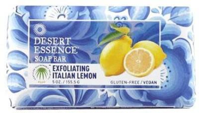 Desert Essence Bar Soap Exfoliating Italian Lemon 5