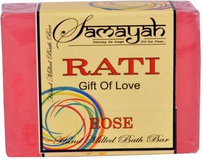 Samayah Hand Made Bath Soap Rati (Rose)