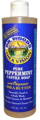 Dr. Woods Pure Castile Soap with Organic Shea Butter - Peppermint