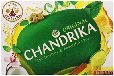 Chandrika Ayurvedic Soap Unit (Pack of 12)