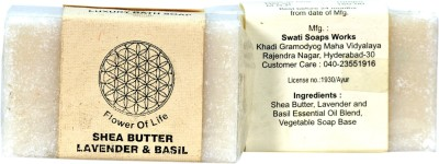 FLOWER OF LIFE -KHADI SHEA BUTTER SOAP