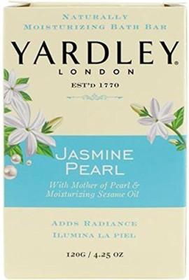 Yardley London Bar Soap Botanical Jasmine Pearl(120.445 g)