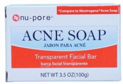 nu-pore NU-PORE Acne Soap Bulk Case of 24(100 g)