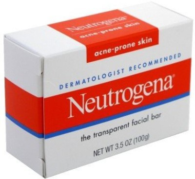 Neutrogena Acne-Prone Facial Bar Box (3 Pack)