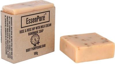 EssenPure Rose & Rose Hip Handmade Soap (Pack of 2)