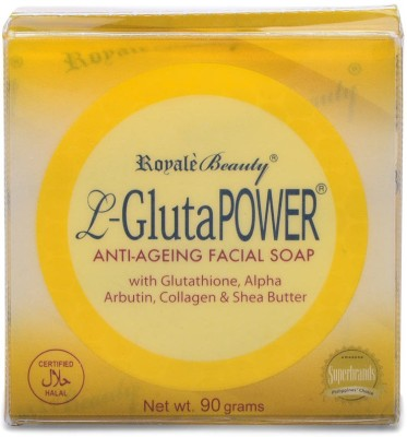 Royale Beauty L Gluta Power Anti Aging Facial Soap With Glutathione