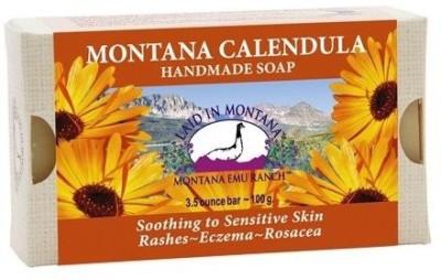 Laid In Montana Montana Calendula Soap Bar